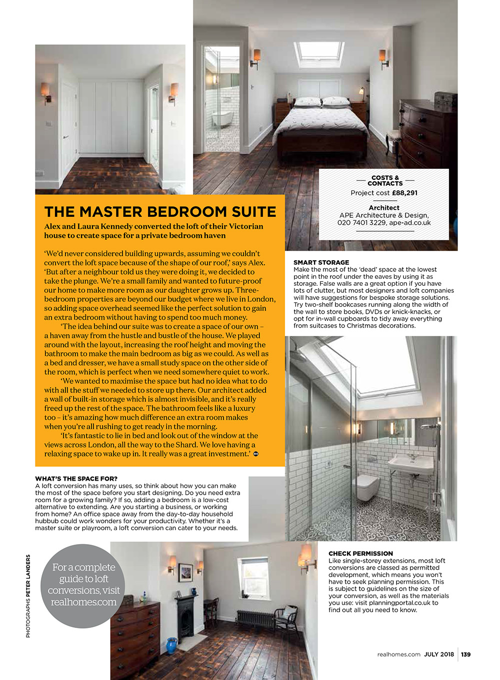 Hackney House featured in Real Homes Magazine