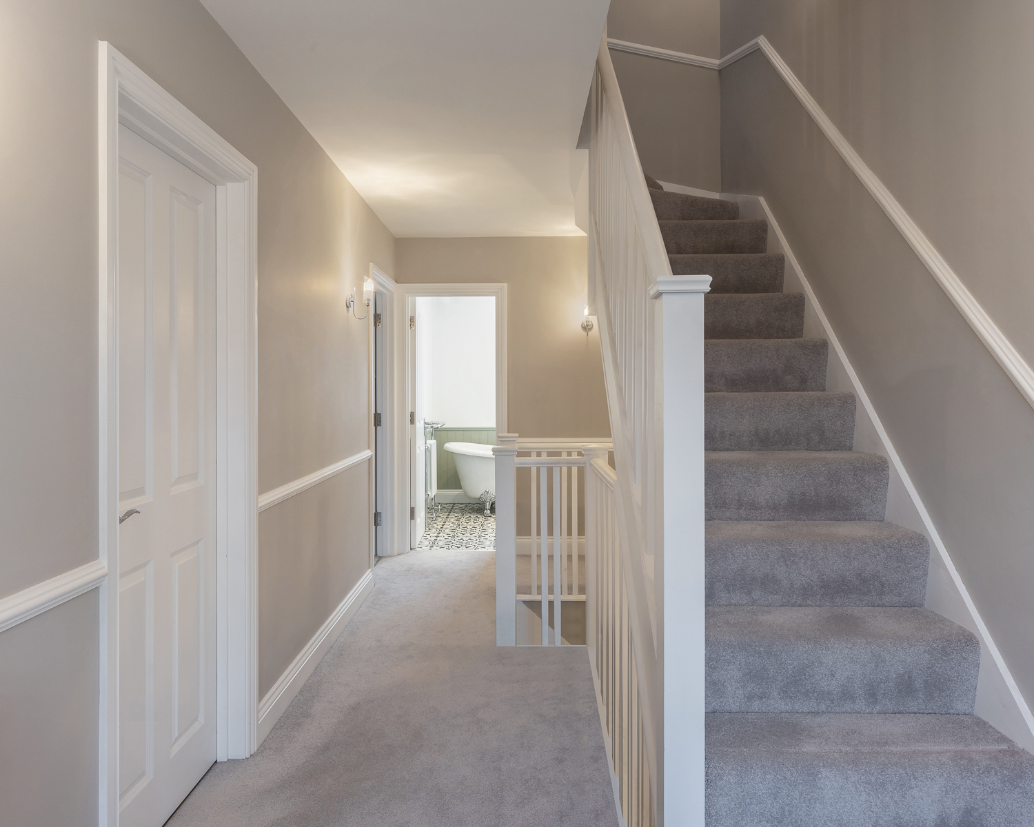 St Albans House staircase