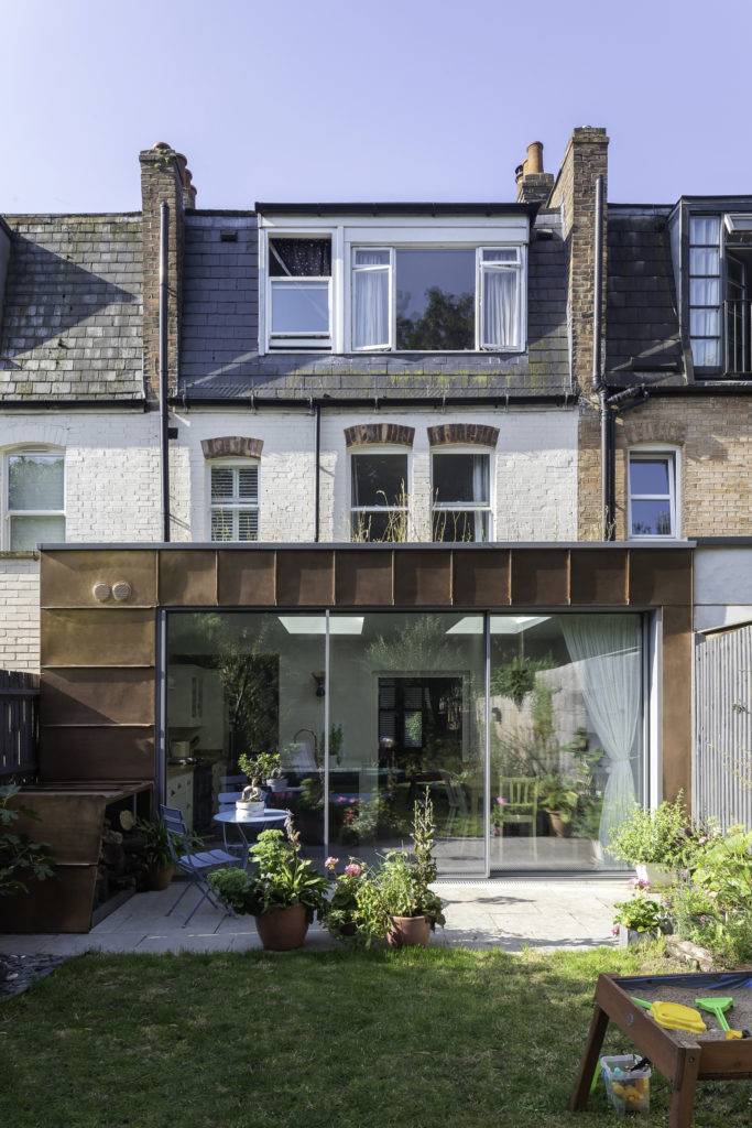 Copperclad Townhouse Exterior
